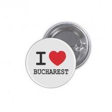 Insigna I Love Bucharest